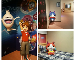 Yokai Watch Fiberglass at Tussauds Madame Hong Kong